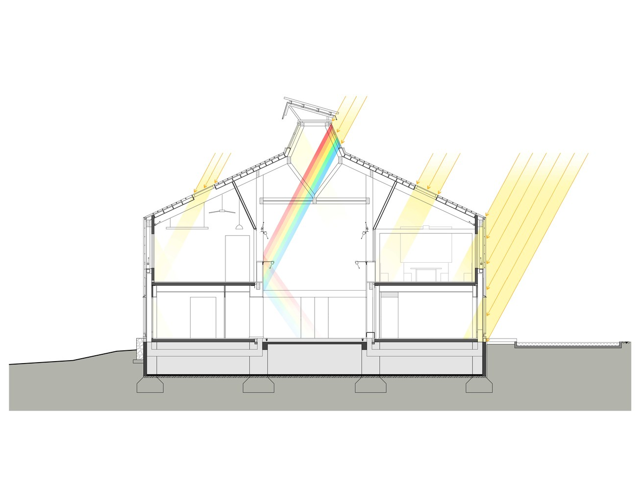 medium resolution of nearly zero energy building of the gui an innovation park diagram