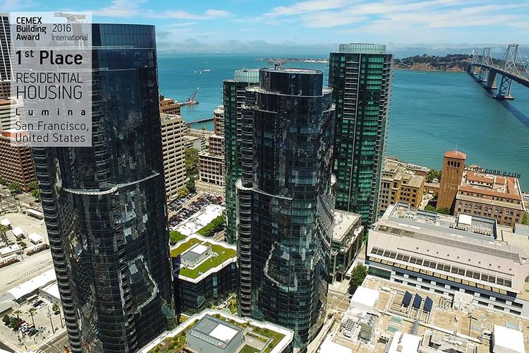 Lumina / Arquitectonica & Heller Manus. San Francisco, USA. Image © CEMEX