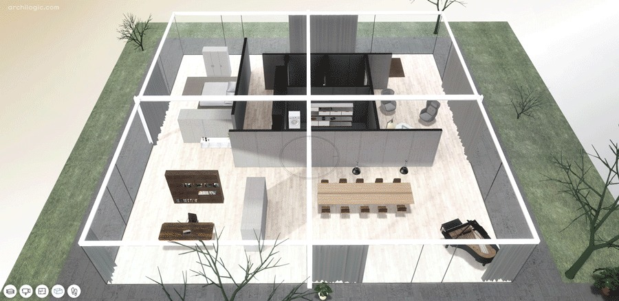 A Virtual Look Into Mies Van Der Rohes Core House ArchDaily