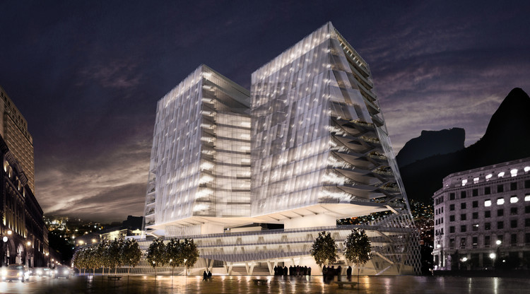 Cannon Design Releases Plans for Mixed-Use Cancer Hospital in Brazil, Courtesy of Cannon Design