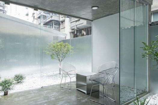 Interior Courtyard . Image © Xiao Yi
