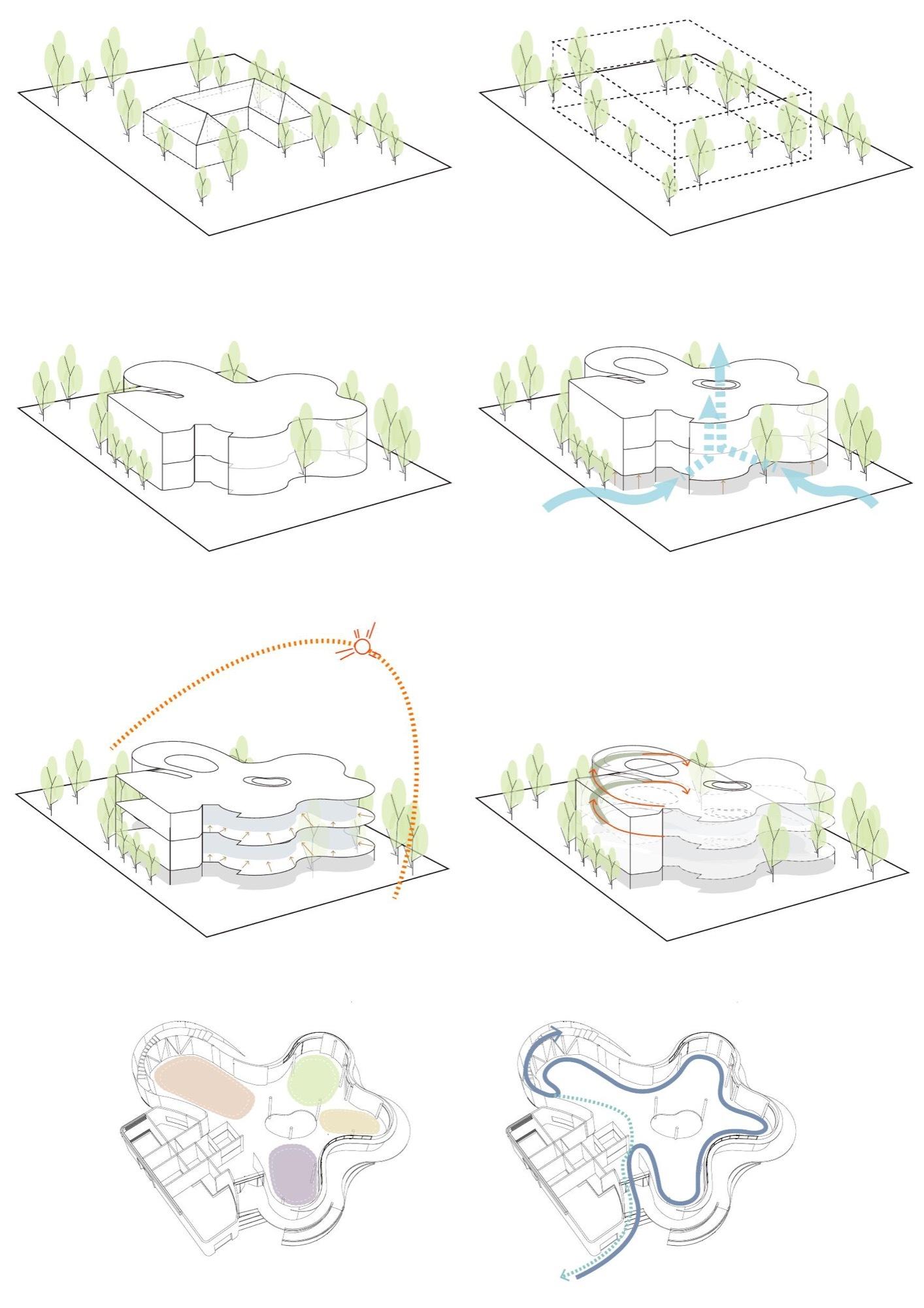 raid 5 concept with diagram ecm wiring galeria de eco pavilhão sinica emerge architects 34