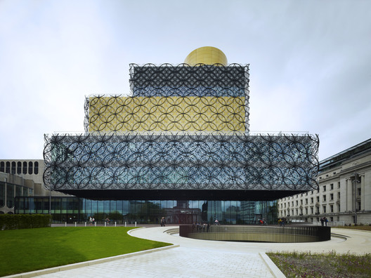 <a href='http://www.archdaily.com/421970/library-of-birmingham-mecanoo'>Library of Birmingham / Mecanoo</a>. Image © Christian Richters