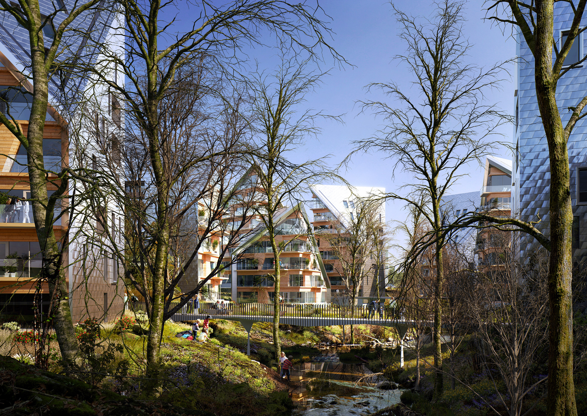 Gallery of Utopia Arkitekter Proposes a Green GrowthRing