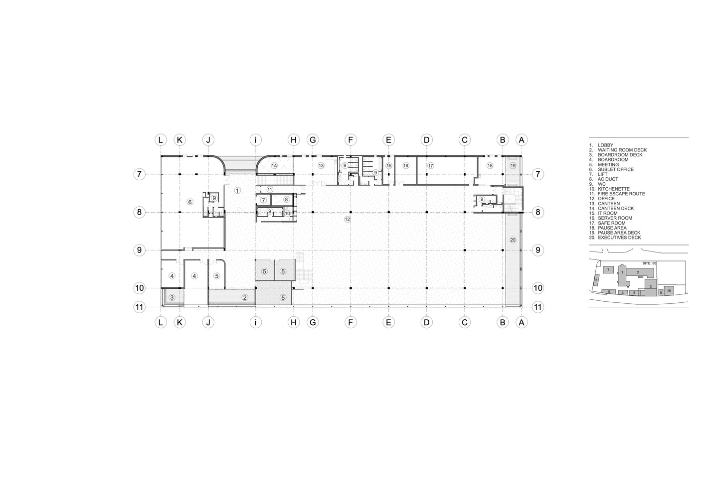 hight resolution of lion match office park 5th floor plan