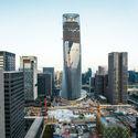 Ningbo Bank of China. Image Courtesy of Ningbo Eastern New City Development