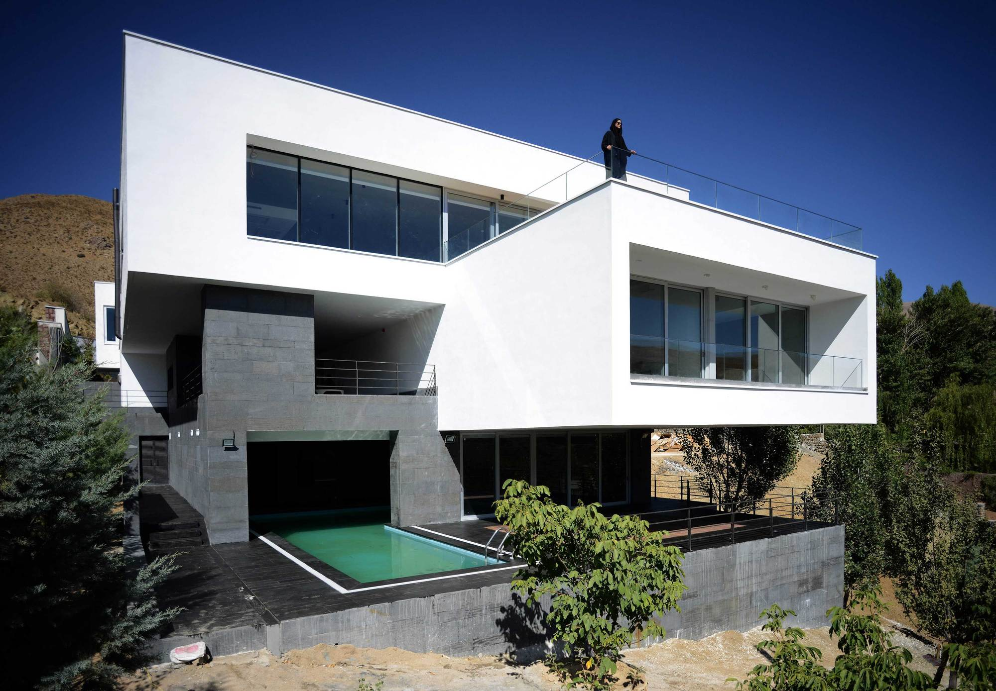 Villa Arsh 4d Studio Archdaily
