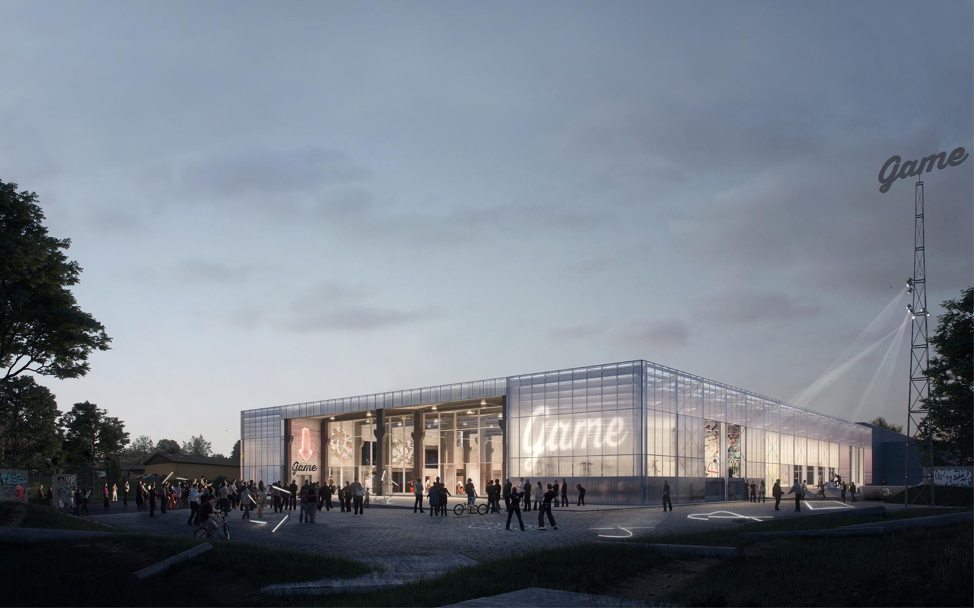 Effekt S Winning Proposal Converts Abandoned Warehouse