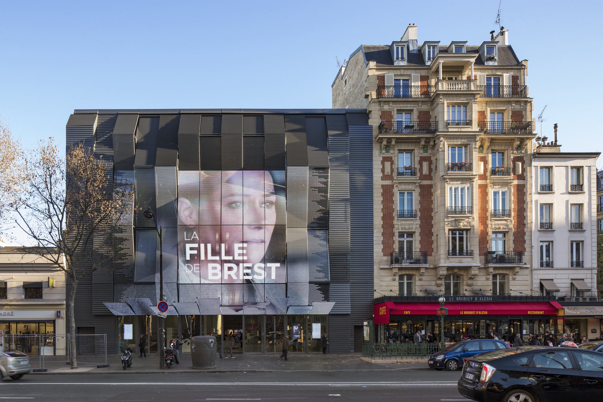Gaumont-path Alsia Cinemas Manuelle Gautrand Architecture Archdaily