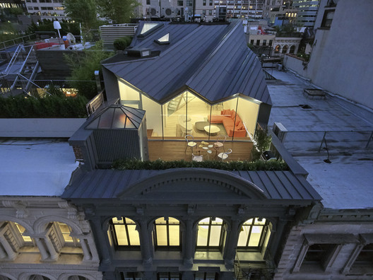 Winner in the Refurbishment Category. The Stealth Building / WORKac. Image © Bruce Damonte