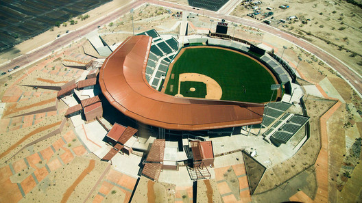 Winner in the Sports Architecture. Sonora Stadium / 3Arquitectura. Image © Gobierno del Estado de Sonora