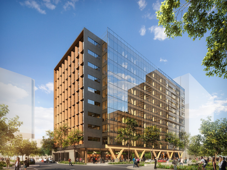 Bates Smart Unveils Plans for Tallest Engineered Timber Building in Australia, Courtesy of Bates Smart
