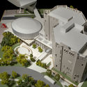 Proposed North Building Project Model 2016. Jason A. Knowles. Image © Fentress Architects