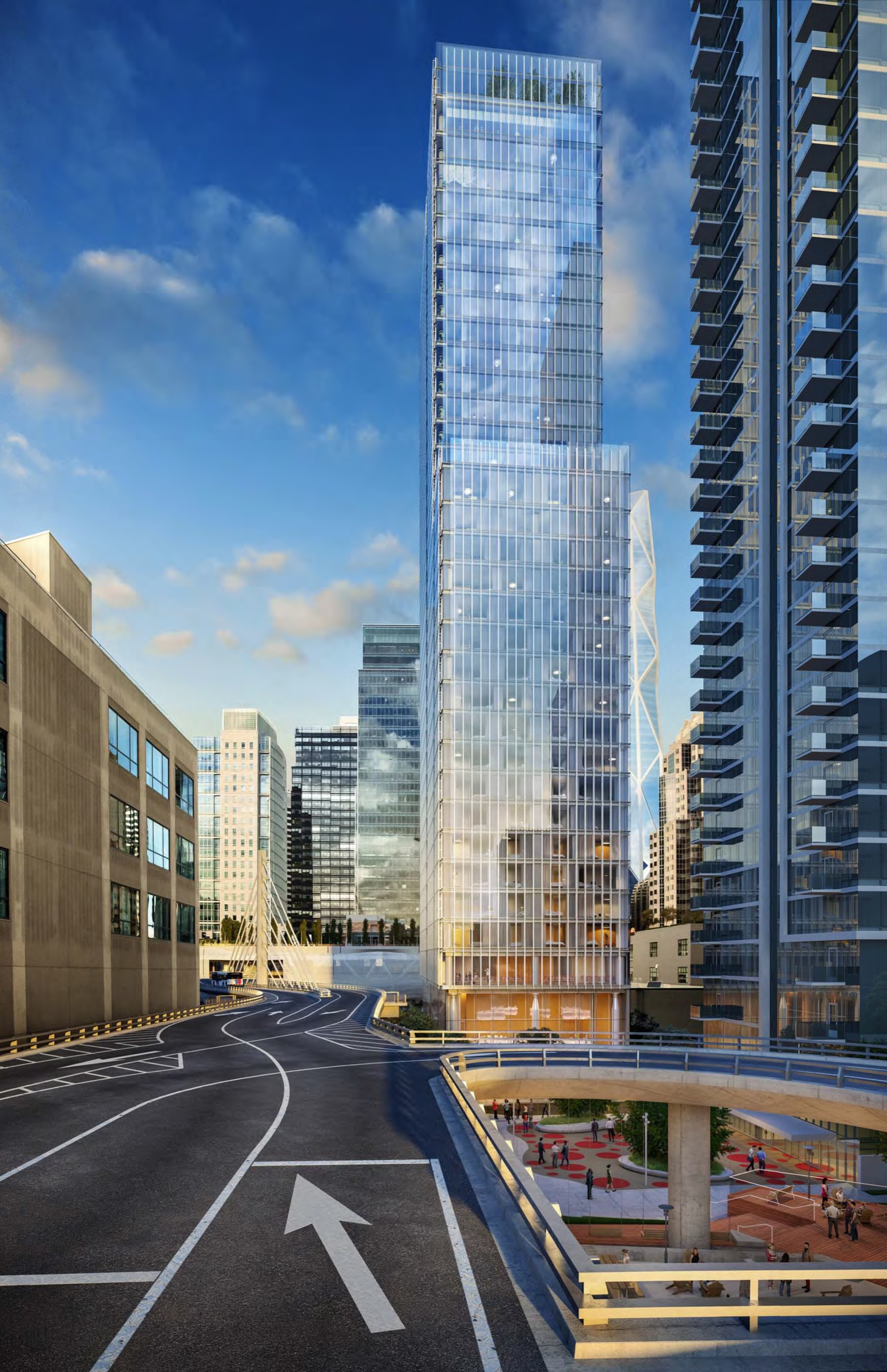 Gallery of Renzo Piano Designs 36Story Hotel and