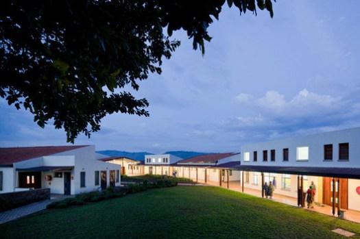 MASS Design Group's Butaro Hospital in Rwanda. Image © Iwan Baan