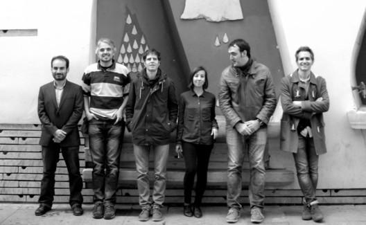 Arquitectos y guías de Barcelona Architecture Walks: Amilcar, Jordi, Joan, Martina, Ricard y Miguel Ángel. Image Cortesía de Barcelona Architecture Walks