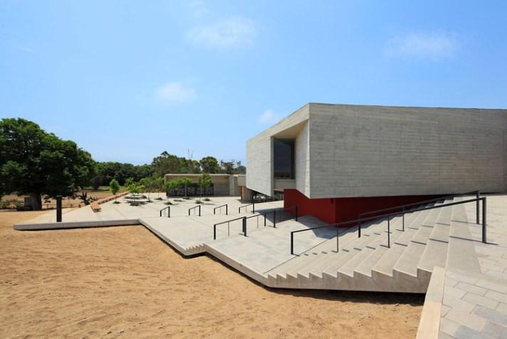 Museo de Sitio Pachacamac / Llosa Cortegana Arquitectos. Imagen © Juan Solano Ojasi