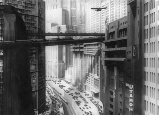 Metropolis. Directed by: Fritz Lang. Distributor: Kino Video, 1927. 1 DVD (153 min) and the possibility of a dystopian future. Source: Movie Still