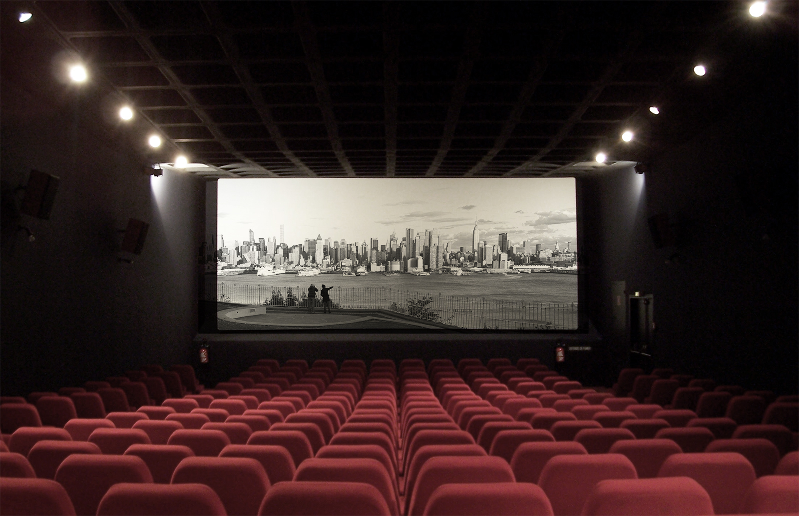 Architecture Speaks Cinema Archdaily