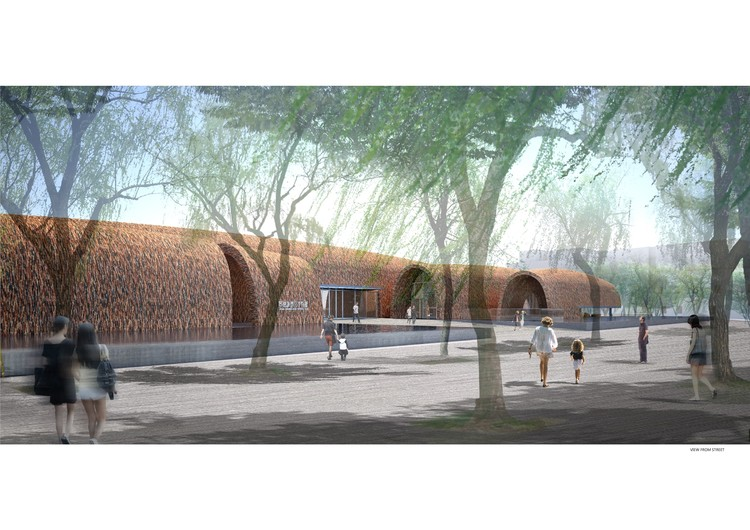 Cultural Regeneration: Museum of Imperial Kiln, Jingdezhen, China, designed by Studio Pei-Zhu (under construction). Image Courtesy of The Architectural Review
