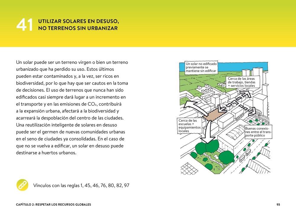 101 reglas básicas para edificios y ciudades sostenibles / Editorial Gustavo Gili