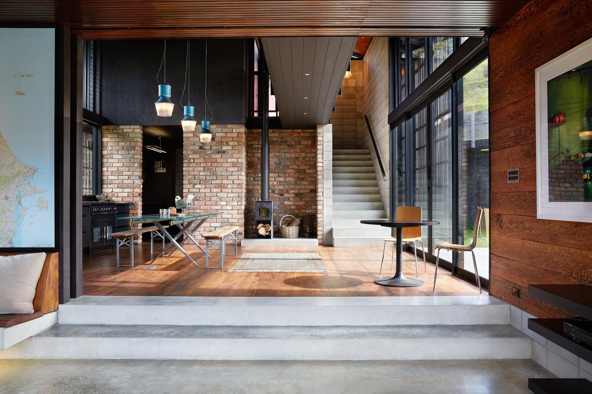 Casa interior  Gerrad Hall Architects  Plataforma