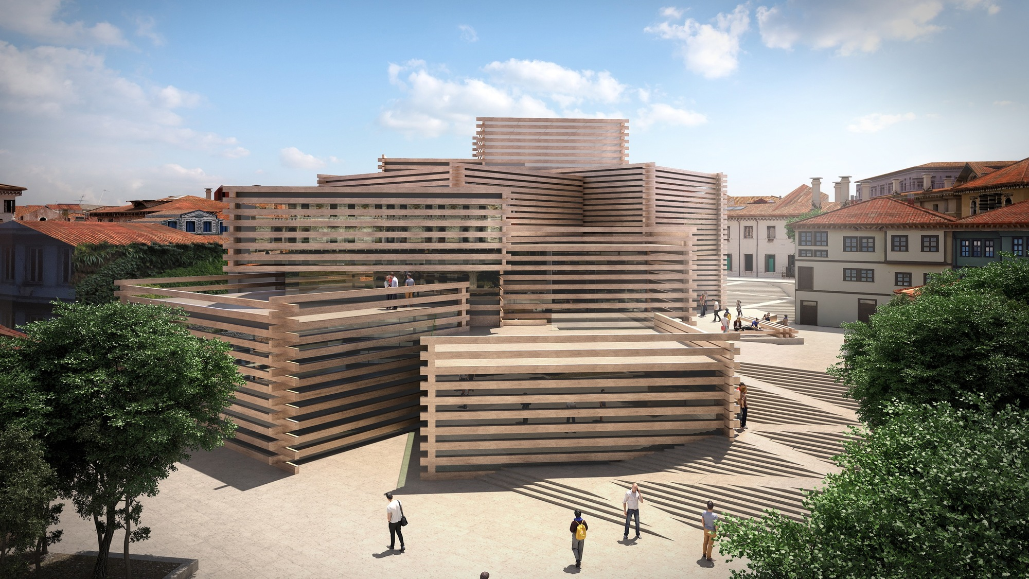 Kengo Kuma & Associates Unveils Stacked Timber Museum In Turkey Archdaily