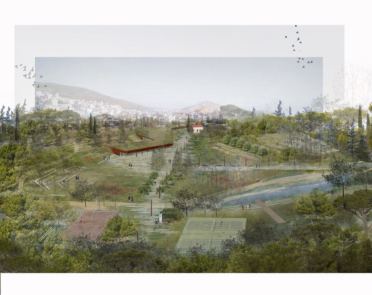 Topio7's Revitalisation of Former Cemetery Merges Urban Park and City in Athens, Courtesy of Topio7 Architects