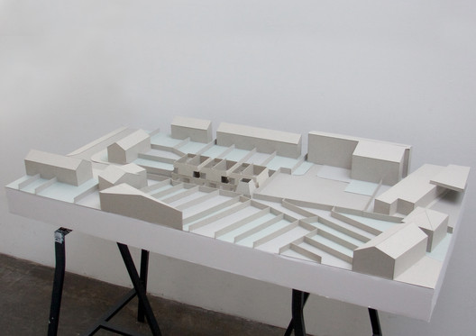 Site model. Image Courtesy of OMMX