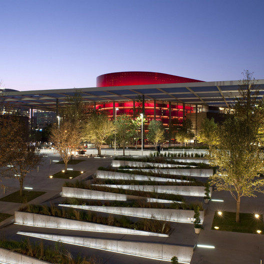 Winspear Opera House / Foster + Partners; Shortlisted - Culture, 2010. Image Courtesy of World Architecture Festival