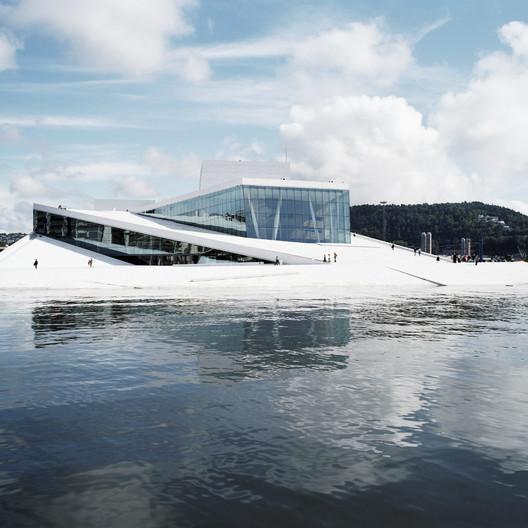 Oslo Opera House / Snøhetta; Winner - Culture, 2008. Image Courtesy of World Architecture Festival
