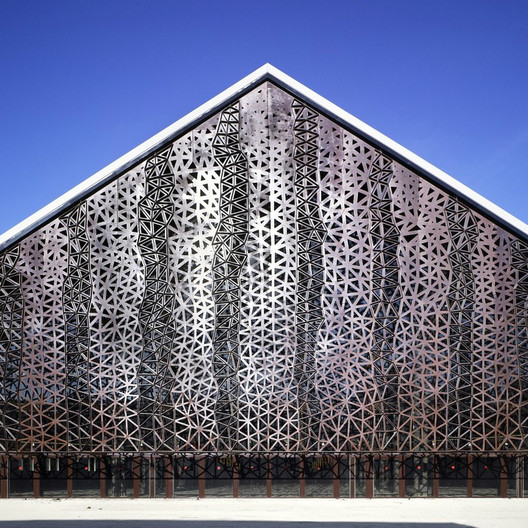 Grande Halle / Agence Moatti et Rivière; Entrant - Culture, 2009. Image Courtesy of World Architecture Festival