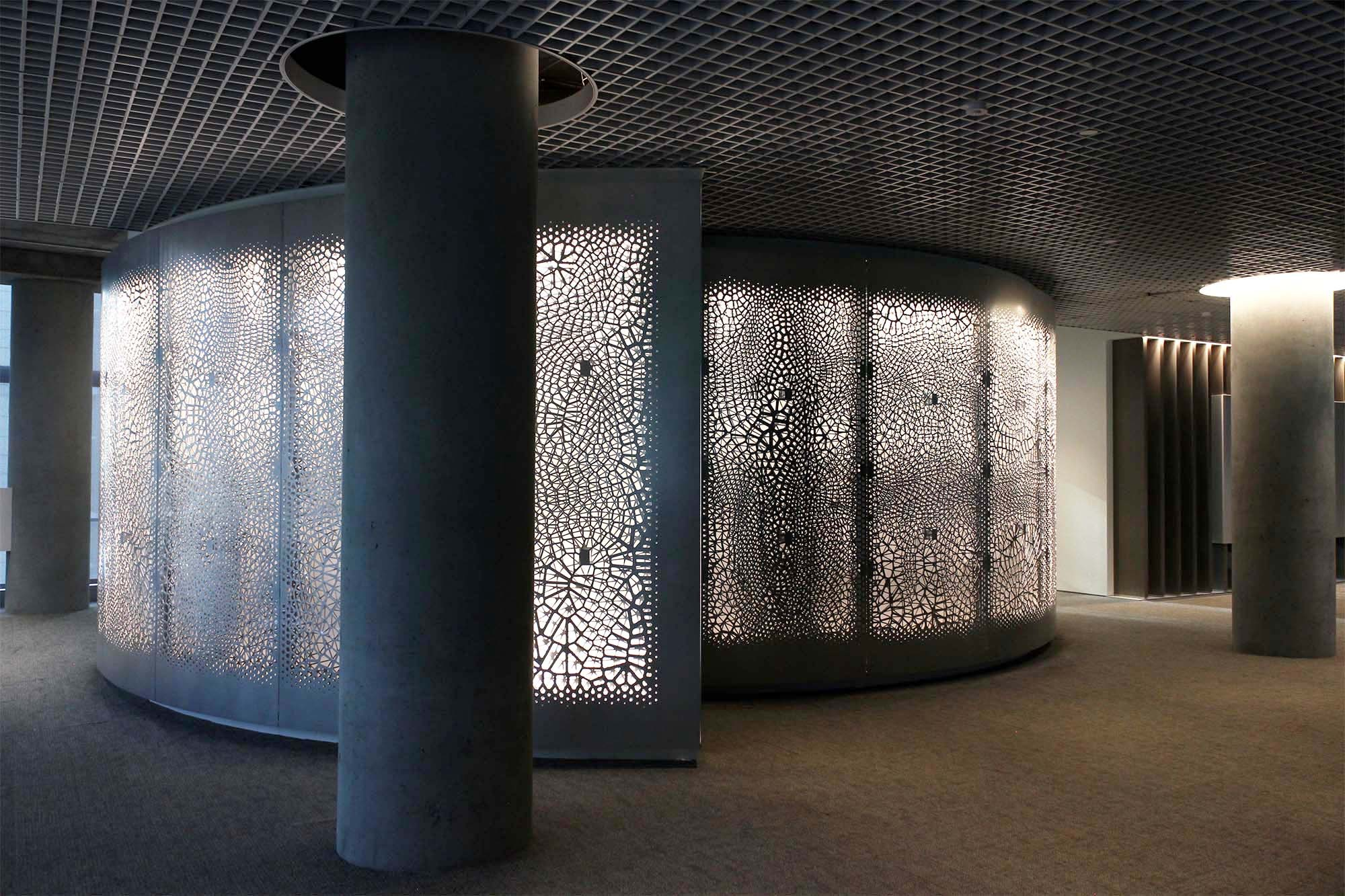 Gallery of Big Data Becomes Architecture in This CNC