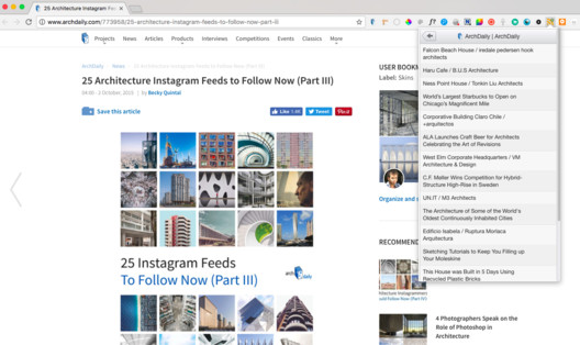 RSS Feed Reader Chrome Extension. Image