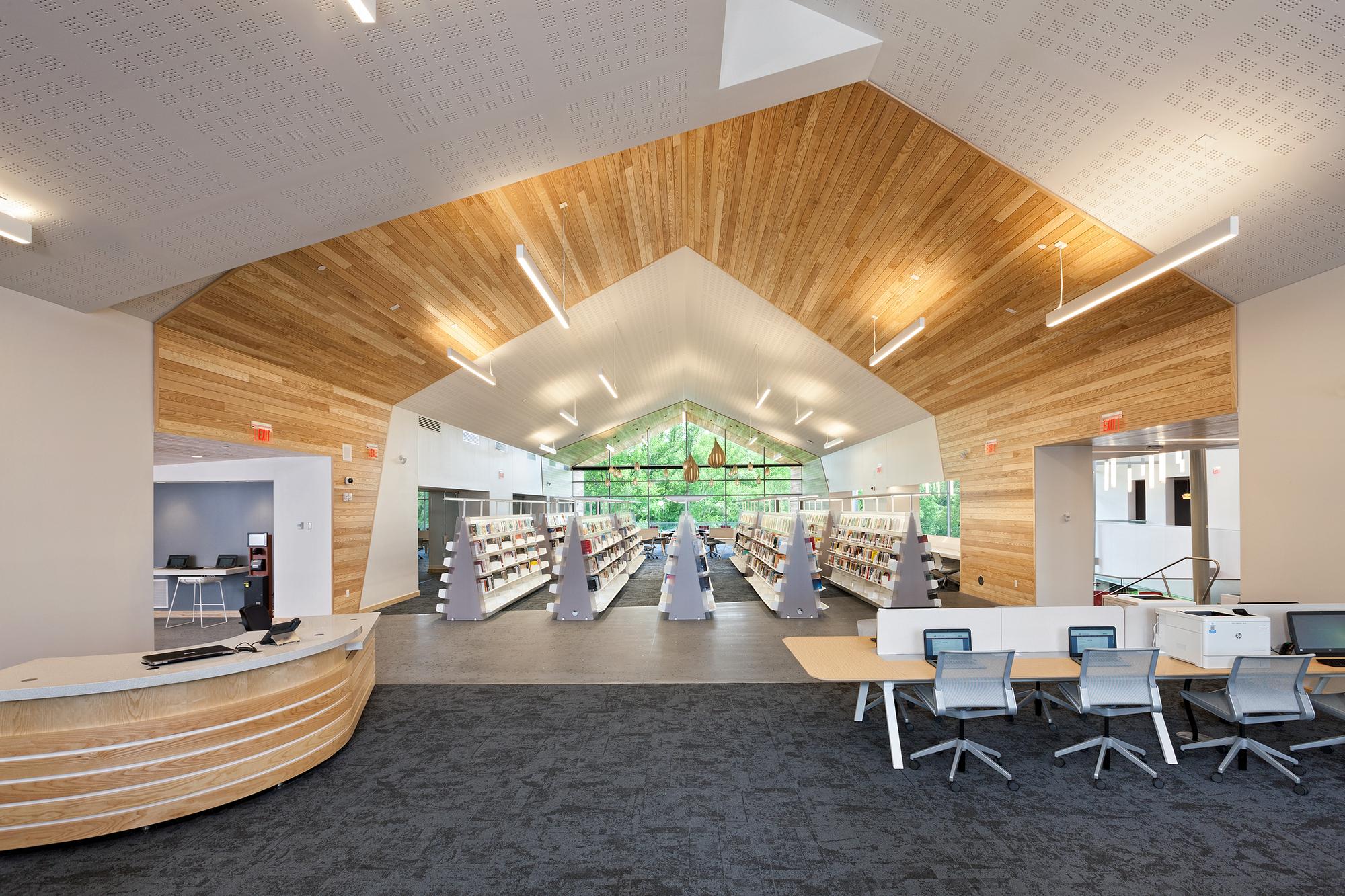Varina Library Area