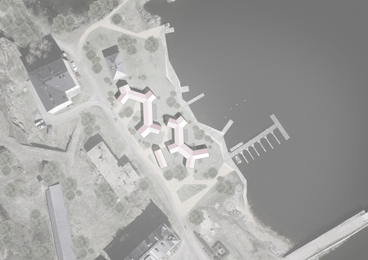 Site plan. Image Courtesy of Heikkinen & Kangasaho