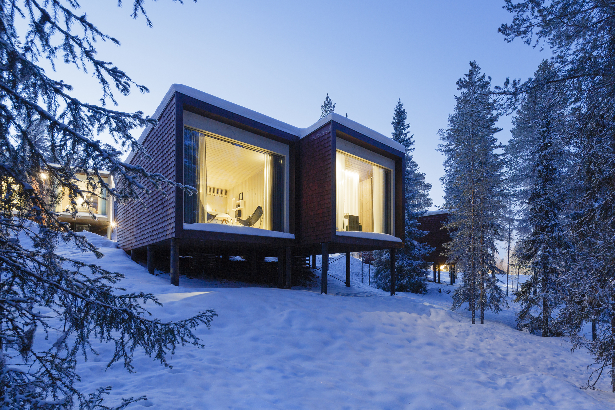 Arctic Treehouse Hotel Studio Puisto Archdaily