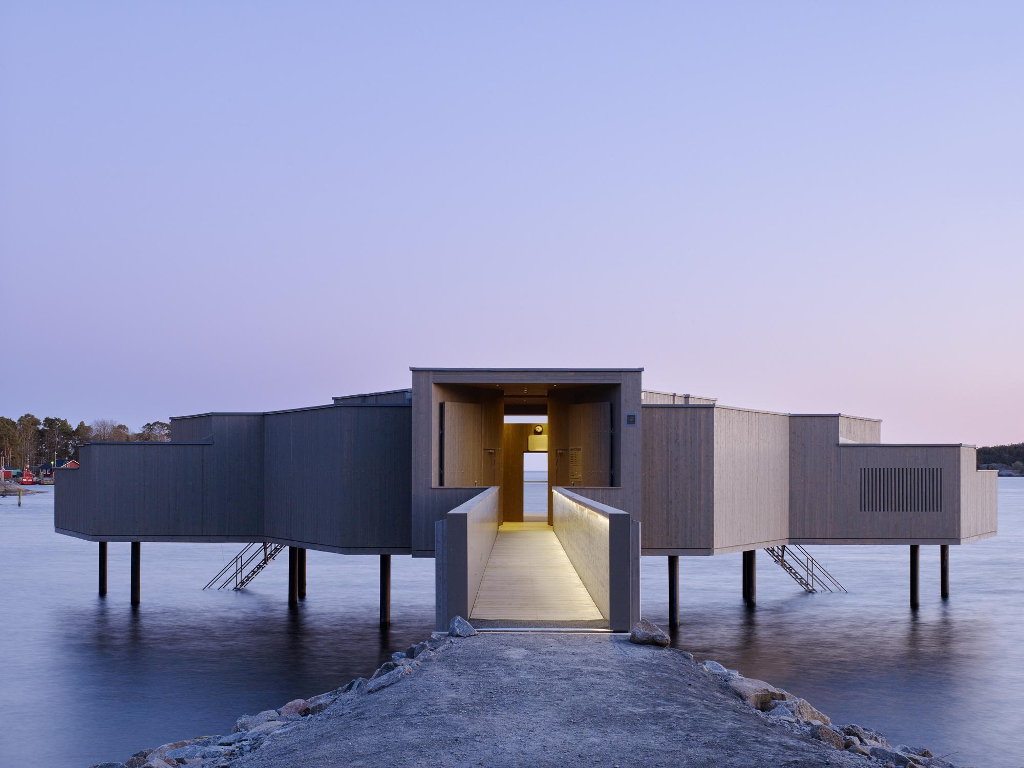 Karlshamn Cold Bath House  White Arkitekter  ArchDaily