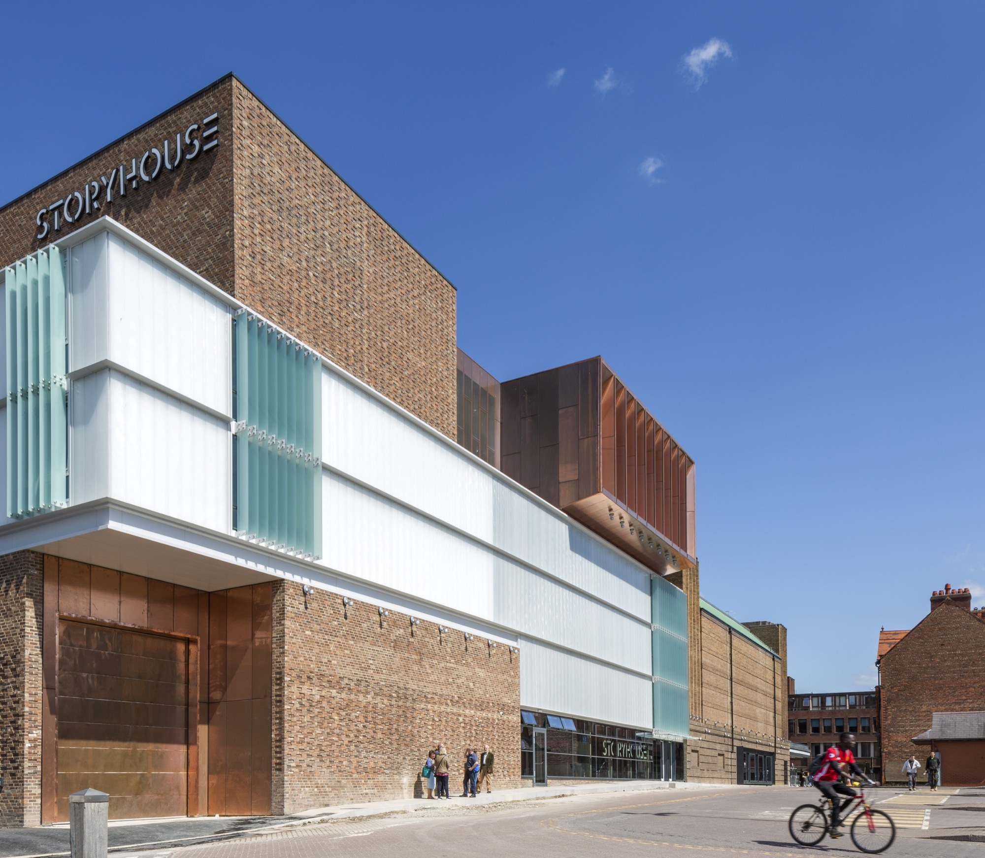 Storyhouse Bennetts Associates Archdaily