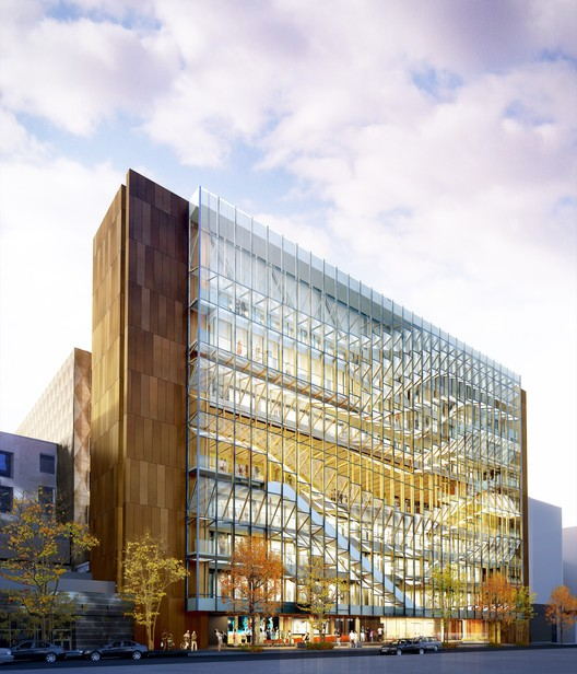 FIT New Academic Building / SHoP Architects + Mathews Nielsen. Image Courtesy of NYC Office of the Mayor