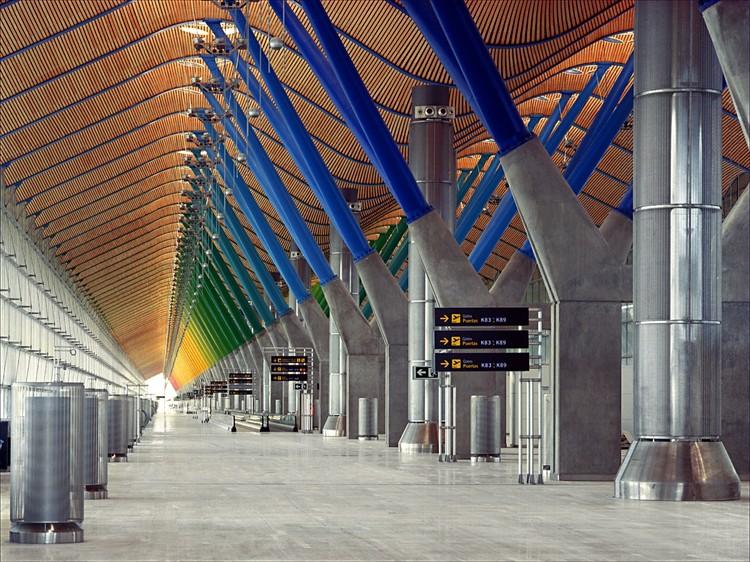 Terminal T4, Barajas. Image © Estudio Lamela + Richard Rogers Partnership