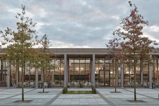 Remembrance Centre, National Memorial Arboretum, Alrewas / Glenn Howells Architects. Image © Rob Parrish