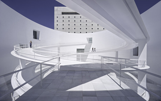 The MA: Andalucia's Museum of Memory / Alberto Campo Baeza. Image © Javier Callejas