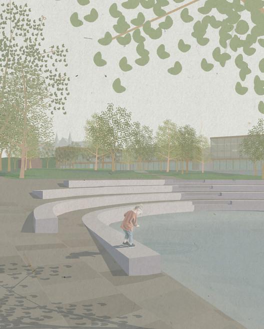Elgeseter Park. Image Courtesy of KOHT Arkitekter