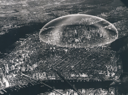 Buckminster Fuller Dome 1961. Image Courtesy of Metropolis Books