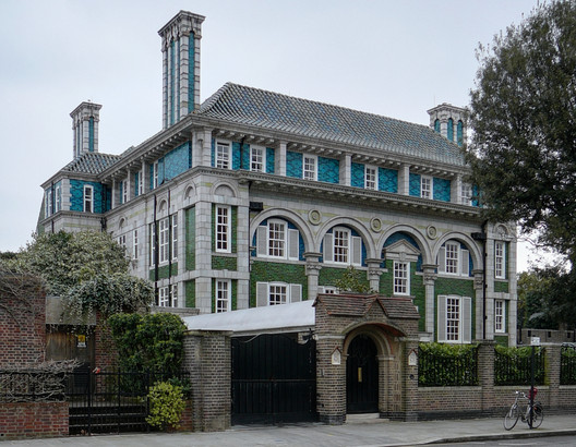 Debenham House, 8 Addison Road, Kensington, by Halsey Ricardo (1905-1908). Image Courtesy of Hidden London