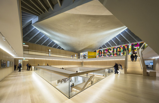 © Luc Boegly + Sergio Grazia. ImageThe Design Museum and Holland Green / Allies and Morrison with OMA and John Pawson.