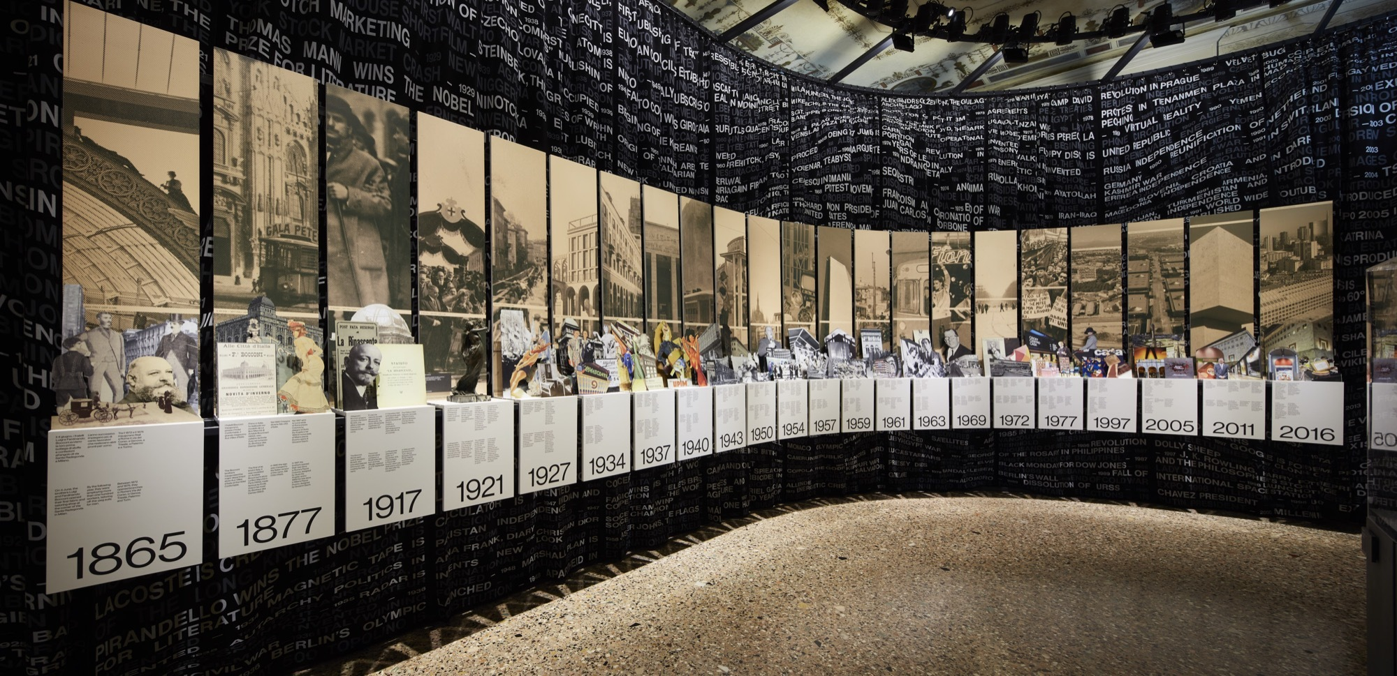 Oma Amo-designed Exhibition Lr100-rinascente Stories Of Innovation Debuts In Milan Archdaily