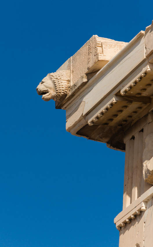 North edge. Head of Lion. Image © Wikipedia User: Jebulon. Licensed Under Public Domain