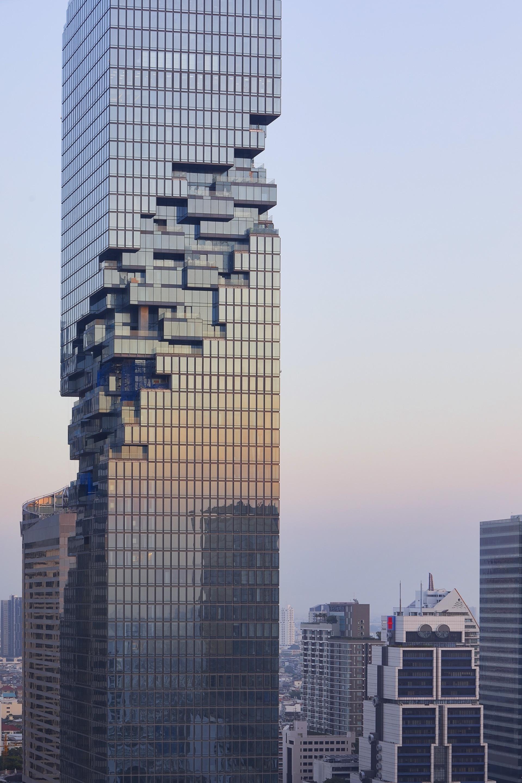 Modern Skyscrapers Architecture